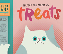 Perfect For Persians Packaging © Michelle Schwartzbauer Design, LLC