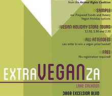 ExtraVEGANza Flyer for Whole Foods Market®